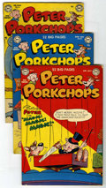 "Golden Age (1938-1955):Funny Animal, Peter Porkchops Group - Davis Crippen (""D"" Copy) pedigree (DC,1951-53).... (Total: 5)"