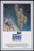 "Movie Posters:Adventure, The Right Stuff (Warner Brothers, 1983). One Sheet (27"" X 41"").Historical Adventure. Starring Sam Shepard, Scott Glenn, Ed ..."