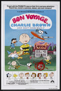 "Movie Posters:Animated, Bon Voyage, Charlie Brown (Paramount, 1980). One Sheet (27"" X 41"").Animated. Starring the voices of Arrin Skelley, Laura Pl..."