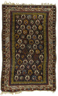 Rugs & Textiles:Carpets, An Antique Shirvan Carpet. Caucasian, Circa 1860-80. Wool. 66.125inches x 44.5 inches...