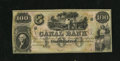 Obsoletes By State:Louisiana, New Orleans, LA- Canal Bank $100 18__. This is a pleasing remainder with exceptional paper. Choice Crisp Uncirculated....