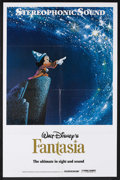 "Movie Posters:Animated, Fantasia (Buena Vista, R-1990). One Sheet (27"" X 41""). Animated Fantasy. Starring Leopold Stokowski, and the voices of Deems..."
