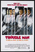 "Movie Posters:Blaxploitation, Trouble Man (20th Century Fox, 1972). One Sheet (27"" X 41""). Blaxploitation. Starring Robert Hooks, Paul Winfield, Ralph Wai..."