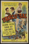 "Movie Posters:Western, Frisco Sal (Universal, 1945). One Sheet (27"" X 41""). Western. Starring Susanna Foster, Turhan Bey, Alan Curtis, Andy Devine,..."