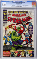 Silver Age (1956-1969):Superhero, The Amazing Spider-Man Annual #3 (Marvel, 1966) CGC NM+ 9.6 Whitepages....