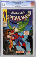 Silver Age (1956-1969):Superhero, The Amazing Spider-Man #49 (Marvel, 1967) CGC NM+ 9.6 Off-white towhite pages....