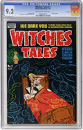 Golden Age (1938-1955):Horror, Witches Tales #2 File Copy (Harvey, 1951) CGC NM- 9.2 Cream tooff-white pages....