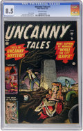 Golden Age (1938-1955):Horror, Uncanny Tales #1 (Atlas, 1952) CGC VF+ 8.5 Off-white pages....