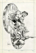 Original Comic Art:Illustrations, Jim Steranko - Hulk 3-D Bronze Medallion Ad Illustration OriginalArt (Marvel, 1974). ...
