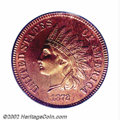 Proof Indian Cents: , 1872 1C PR65 Red PCGS. Proof 1872 Cents are much more ...