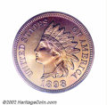 Proof Indian Cents: , 1898 1C PR67 Red PCGS. Eagle Eye Photo Seal. This is a ...