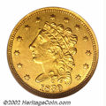 Classic Quarter Eagles: , 1839-C $2 1/2 MS61 NGC. Recut Date. Winter 2-B. While the ...