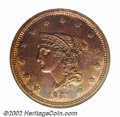 Proof Large Cents: , 1841 1C PR65 Red and Brown NGC. This coin was previously ...