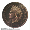 Proof Indian Cents: , 1884 1C PR67 Red PCGS. Orange-red and rich lavender ...