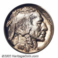 Proof Buffalo Nickels: , 1915 5C PR67 PCGS. The surfaces are free from carbon ...