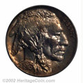 Proof Buffalo Nickels: , 1916 5C PR67 PCGS. Nearly brilliant in the centers, the ...