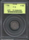Early Half Dimes: , 1795 H10C Fine 15 PCGS. LM-8, R.3. The date is widely ...