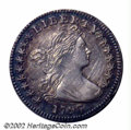Early Half Dimes: , 1797 H10C 16 Stars MS60 Cleaned Uncertified. V-4, LM-2, R....