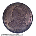 Bust Dimes: , 1829 10C Large 10C MS67 PCGS. JR-2, R.2. This coin is ...