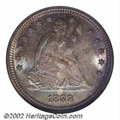 Seated Quarters: , 1888-S 25C MS65 NGC. Despite a mintage of more than 100 ...