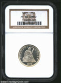 Proof Seated Quarters: , 1872 25C PR66 Cameo NGC. Only 950 proofs were struck of ...
