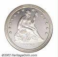 Proof Seated Quarters: , 1891 25C PR67 Cameo NGC. A spectacular, totally brilliant ...