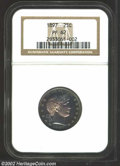 Proof Barber Quarters: , 1897 25C PR62 NGC. A needle-sharp example with deep ...