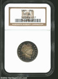 Proof Barber Quarters: , 1901 25C PR66 NGC. The obverse has sparkling proof ...