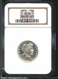 Proof Barber Quarters: , 1904 25C PR66 NGC. With frosted devices and fully ...