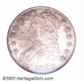Bust Half Dollars: , 1820 50C Square 2, Large Date MS64 NGC. O-106, R.1. ...