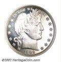 Proof Barber Half Dollars: , 1892 50C PR66 Cameo NGC. This smooth Gem is a delight to ...
