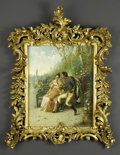 Fine Art - Painting, European:Antique  (Pre 1900), Italian Oil On Panel. A. Secola (Italian). Nineteenth Century. Oilon panel. Signed lower right, illegibly. 20 x 16 inches. ...