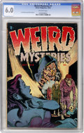 Golden Age (1938-1955):Horror, Weird Mysteries #1 (Gillmor, 1952) CGC FN 6.0 Off-white pages....