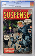 Silver Age (1956-1969):Science Fiction, Tales of Suspense #1 (Marvel, 1959) CGC VG/FN 5.0 Off-whitepages....