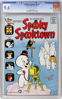Spooky Spooktown #1 File Copy (Harvey, 1961) CGC NM+ 9.6, Cream to off-white pages