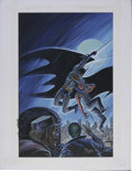 Original Comic Art:Covers, Norm Breyfogle - Detective Comics #627 Cover Painting Original Art(DC, 1991). ...