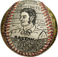 Baseball Collectibles:Others, George Sosnak Folk Art Baseball, George Wright. Perhaps only Leroy Neiman's name is more recognizable to collectors when it...