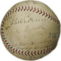 Autographs:Baseballs, 1923 Chicago White Sox Team Signed Baseball. Dating from just four years after the greatest scandal in baseball history sho...
