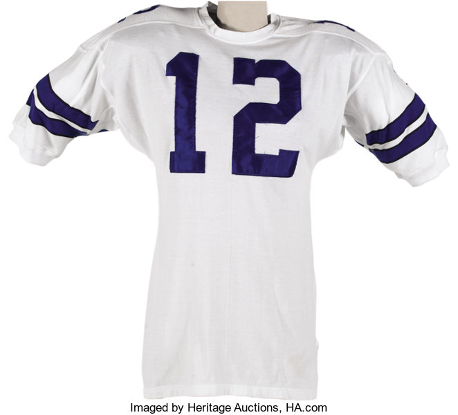newest 158e8 7e062 1969 Roger Staubach Game Worn Rookie Jersey. Like most other ...