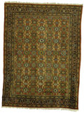 Rugs & Textiles:Carpets, An Antique Mahal Rug. West Persia. Circa 1880. Wool. 141.33 inchesx 108.67 inches...