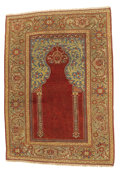 Rugs & Textiles:Carpets, An Antique Transylvanian Prayer Rug. West Anatolia. Circa 1750. Wool. 71.25 inches x 51.2 inches. ...