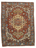 Rugs & Textiles:Carpets, An Antique Heriz Rug. Northwest Persia. Circa 1890. Wool. 151.2inches x 111.4 inches. ...