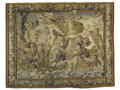 Rugs & Textiles:Tapestries, Aubusson Tapestry. 18th Century. Silk, wool. 9 feet x 12 feet...