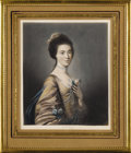 Decorative Arts, British:Other , Eighteen Assorted Framed Mezzotint Portraits in Color. Unknownmaker, British. Late Nineteenth/Early Twentieth Century. Me...