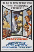 "Movie Posters:Adventure, Billy Budd (Allied Artists, 1962). One Sheet (27"" X 41"").Adventure. Starring Robert Ryan, Peter Ustinov, Melvyn Douglasand..."