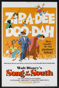 "Movie Posters:Animated, Song of the South (Buena Vista, R-1973). One Sheet (27"" X 41"").Animated Musical. Starring James Baskett, Lucile Watson, Rut..."
