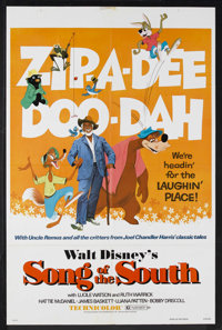 """Song of the South (Buena Vista, R-1973). One Sheet (27"""" X 41""""). Animated"""