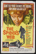 "Movie Posters:Mystery, The Spider's Web (United Artists, 1961). One Sheet (27"" X 41"").Mystery. Starring Glynis Johns, John Justin, Jack Hulbert, C..."