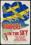 """Movie Posters:War, Raiders in the Sky (Mayflower Productions, 1952). One Sheet (28"""" X42""""). An International Films release, originally titled """"..."""