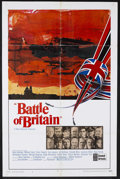 "Movie Posters:War, Battle of Britain (United Artists, 1969). One Sheet (27"" X 41"")Style A. War. Starring Michael Caine, Trevor Howard, Curt Ju..."